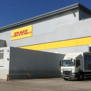 DHL depot photo